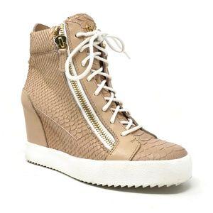 Giuseppe Zanotti Ofelia Wedge Sneaker Size 41 EU